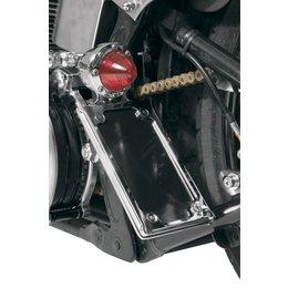 Chrome Rsd Tracker Taillight W License Holder For Harley Flst Fxst