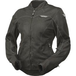 Fly Racing Womens Flux Air Mesh Jacket Black