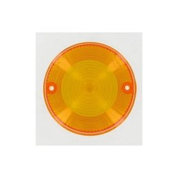 K&S Technologies Turn Signal Replacement Lens Amber For Kawasaki KZ 77-03