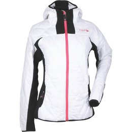 Divas Womens Fleece Jacket White