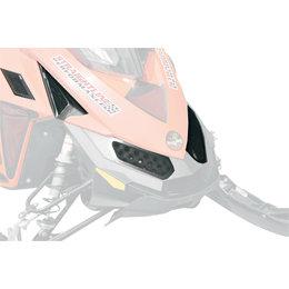 Straightline Snowmobile 5 Piece Nose Vent Kit For Ski-Doo 183-105 Black