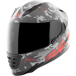 Speed & Strength Straight Savage SS1600 Full Face Helmet Red