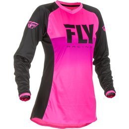 Fly Racing Youth Girls Lite Jersey Pink