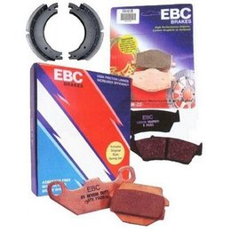 EBC Drum Brake Grooved Shoe For Honda 125/200/250 CM Rebel Unpainted