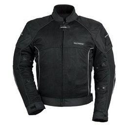 Black Tour Master Womens Intake Air Series 3 Mesh Jacket