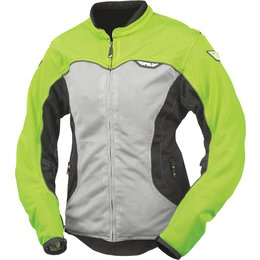 Fly Racing Womens Flux Air Mesh Jacket Yellow