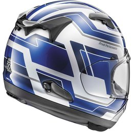 Arai Signet-X Place Full Face Helmet With Flip Up Shield Blue