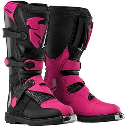 Thor Womens Blitz CE Certified Boots With MX Soles Black