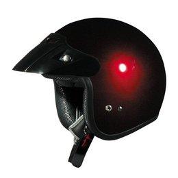 Wine Red Afx Boys Fx-75y Fx75y Open Face Helmet