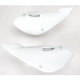 Acerbis Side Panels White For Kawasaki KLX110 Suzuki RM65 DRZ110