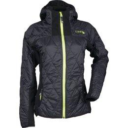 Divas Womens Fleece Jacket Black