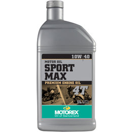 Motorex Sport Max Premium Oil For 4-Stroke Engines 10W40 1 Liter 113860 Unpainted