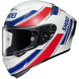 Shoei X-Fourteen X14 X-14 Eddie Lawson Replica Full Face Helmet White