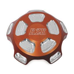 Modquad UTV Gas Cap Billet Aluminum For Polaris Orange Logo RZR-GC-OR Orange