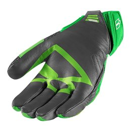Green Icon Mens Overlord Mesh Gloves 2014
