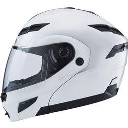 Pearl White Gmax Gm54s Modular Helmet