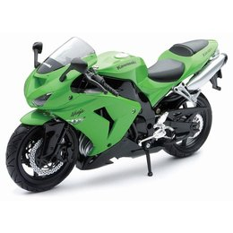 New Ray Toys Kawasaki ZX-10R 2006 Motorcycle Toy 1:12 Scale Green 42443A