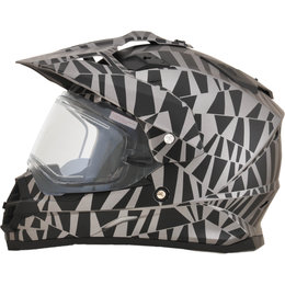 AFX FX39 Dazzle DS Dual Sport Helmet With Electric Shield Grey