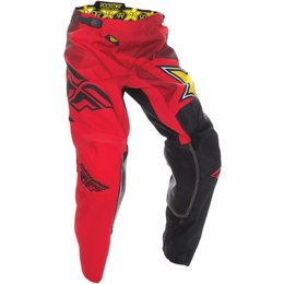 Fly Racing Mens Kinetic Rockstar Pants Red