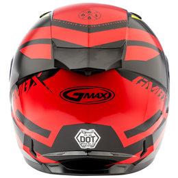 GMAX FF49 FF-49 Berg Snowmobile Helmet With Dual Pane Shield Red