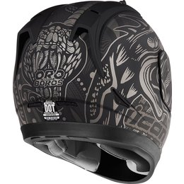 Icon Alliance Oro Boros Full Face Helmet Black