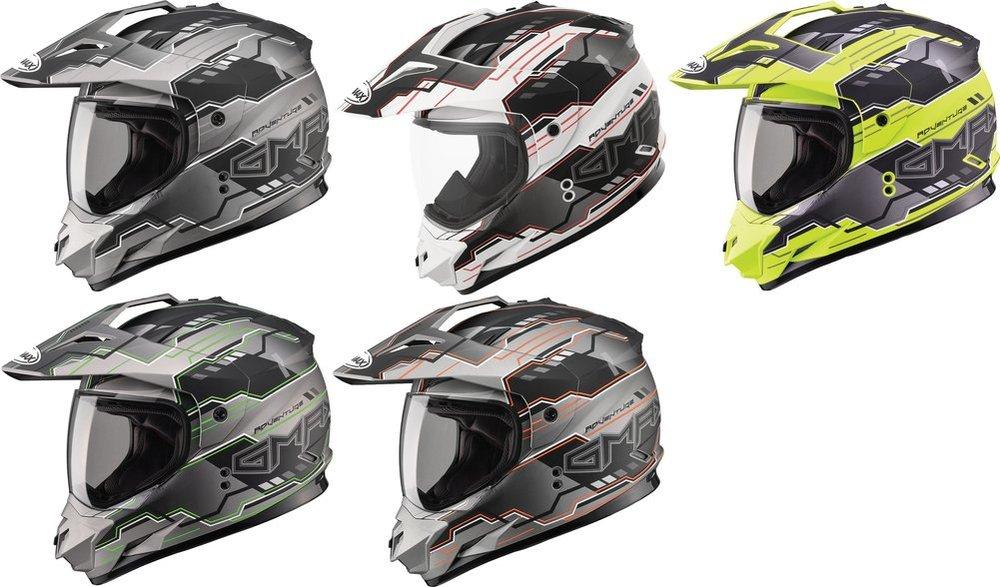 Gmax G5115016 Dual Sport Solid Helmet