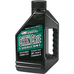 Maxima Chain Case Synthetic Lubricant 75W-140 16 Oz 45916 Unpainted