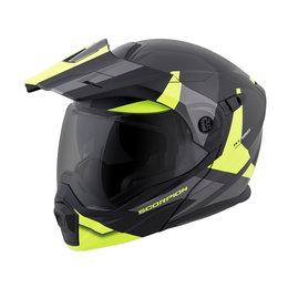 Scorpion EXO-AT950 EXOAT 950 NeoCon Modular Dual Sport Adventure Helmet Yellow