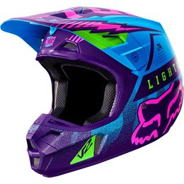 Fox Racing Special Edition V2 Vicious Helmet Blue