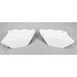 Acerbis Side Panels White For Yamaha YZ125 YZ250 02-05