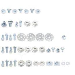 Bolt MC Full Plastics Fastener Kit Steel For Honda CRF250R CRF250X CRF450X Unpainted