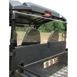 Seizmik UTV Hard Dust Panels For John Deer RSV And Mid-Size XUV Unpainted