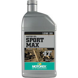 Motorex Sport Max Premium Oil For 4-Stroke Engines 15W50 1 Liter 113863 Unpainted