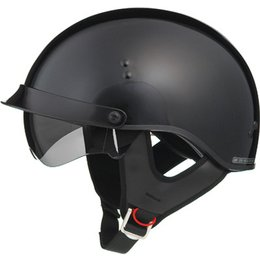 Gloss Black Gmax Mens Gm65 Full Dress Half Helmet 2013