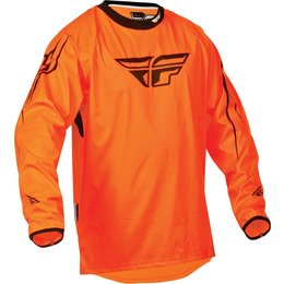 Fluorescent Orange Fly Racing Mens Windproof Technical Jersey 2015