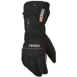 Black Mobile Warming Womens Tx Textile Gloves