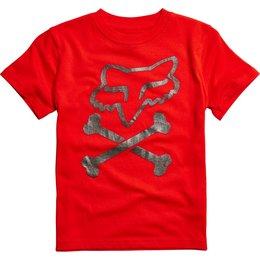 Fox Racing Kids Boys Lansing T-Shirt Red