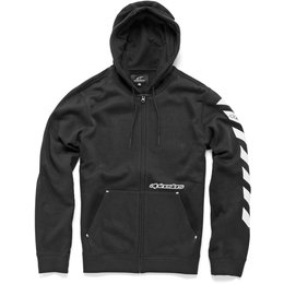 Alpinestars Mens Debrief Zip Hoody Black