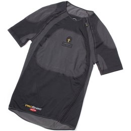 Forcefield Pro X-V-S Riding Shirt With NO Armor Black