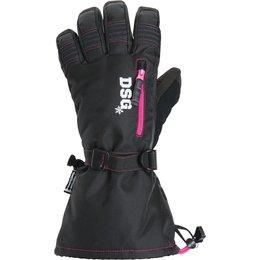 Divas Womens DSG Craze Insulated Snowmobile Gloves Black