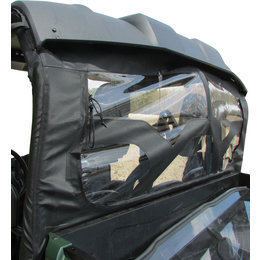 Seizmik UTV Soft Dust Panel For Yamaha Viking 700 2014-2015 Transparent