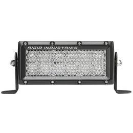 Rigid E-Series ATV 6 Inch Hybrid Diffused Light Bar Black With White LED 106512 Black