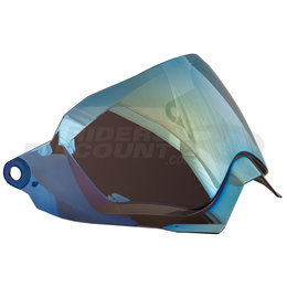 AFX FX-41DS Anti-Scratch Dual Sport Helmet Shield Transparent