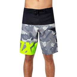 Fox Racing Mens Shiv Camo Boardshorts Grey