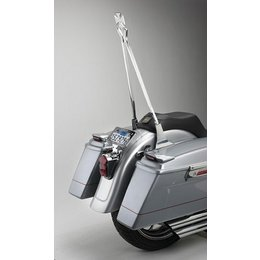 Chrome Cycle Visions Crosstude 30 In Sissy Bar Stick Wide