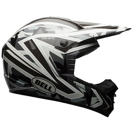 Bell Powersports SX-1 Whip DOT ECE Approved MX Motocross Helmet Black