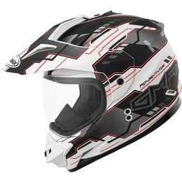 GMax GM11D Adventure Dual Sport Helmet White