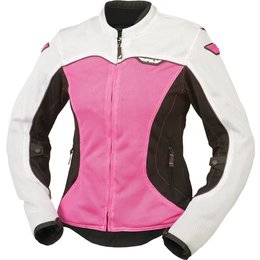 Fly Racing Womens Flux Air Mesh Jacket White