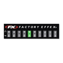 N/a Factory Effex Temperature Gauge Sticker 3 Pack