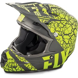 Fly Racing F2 Carbon Fracture Helmet Grey